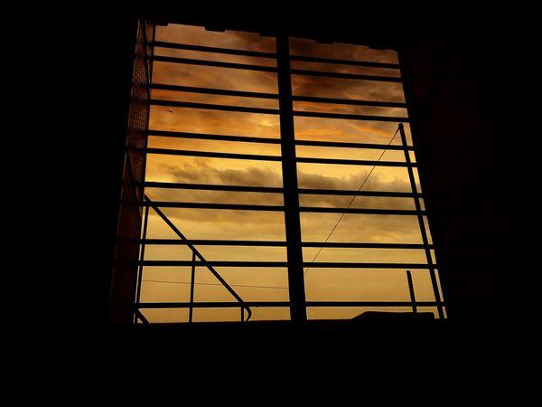 Gloomy Sky Window Mobile Photography