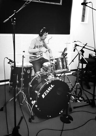 First! Drummer Todayshotlook Studiotime Today