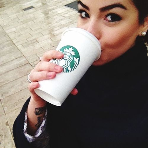 Thebestcoffee Starbuckscoffee Budapest, Hungary Winter Vacation Goodmorning ♥