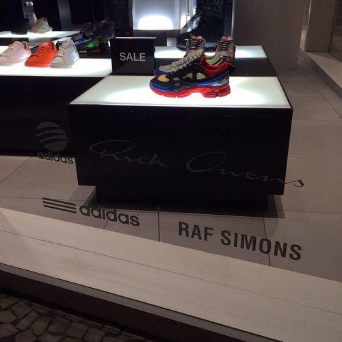 🎌 Adidasoriginals RickOwens RafSimons