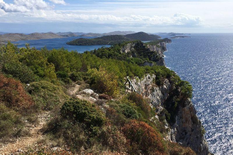 Kornati Croatia Adriatic Sea Dugi Otok Rocks Coastline Landscape Sea Water Scenics - Nature Sky Beauty In Nature Plant Nature Horizon Over Water No People Tranquility Horizon Cloud - Sky