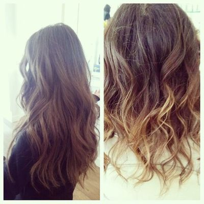 Right or Left First style is a very loose wave Second style is more of a kink What is your go to style these days? Hair Blowoutoftheday Blowout Blowdry thedrybar curls wavy 3daybender tbt