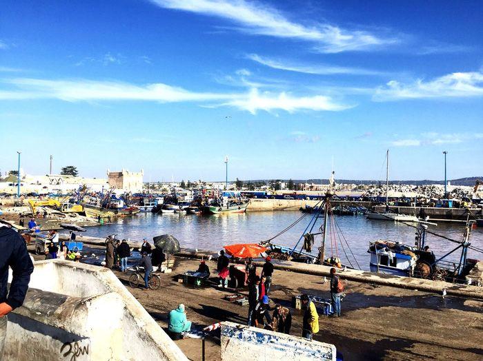 Port d'Essaouira, Morocco IPhoneography Morocco Travel Essaouira Outdoors Port Inmorocco Africa EyeEmNewHere