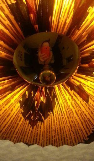 Selfportrait Lightfixture Bored At Home Convex Mirror