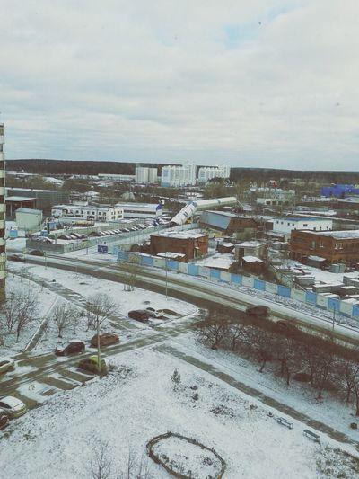 First Snow Ekaterinburg Streetphotography Clara Filter
