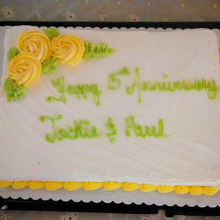 My parents anniversary. 15years