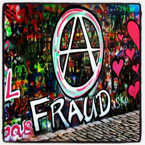 Anarchy Fraud Graffiti