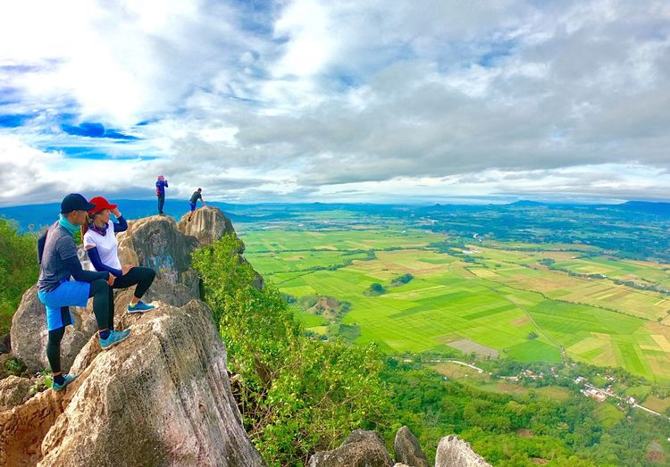For love conquers all Love ♥ Relationship Goal EyeEmNewHere Cloud - Sky Sky Landscape Environment Beauty In Nature Scenics - Nature Men Nature Mountain Leisure Activity Activity Adventure Tranquility Hiking EyeEmNewHere
