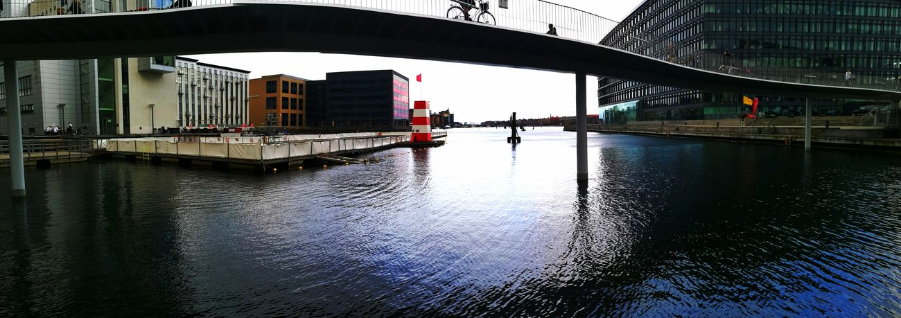 Water Outdoors City Sky Day Sea Cophenhagen Denmark Fisketorvet