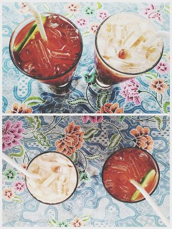 Drinks Thai Iced Tea Two Of A Kind The EyeEm Breakfast Club