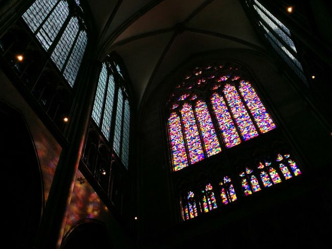 Gerhard Richter For Cologne Cathedral. Church Architecture Gerhard Richter ArtWork