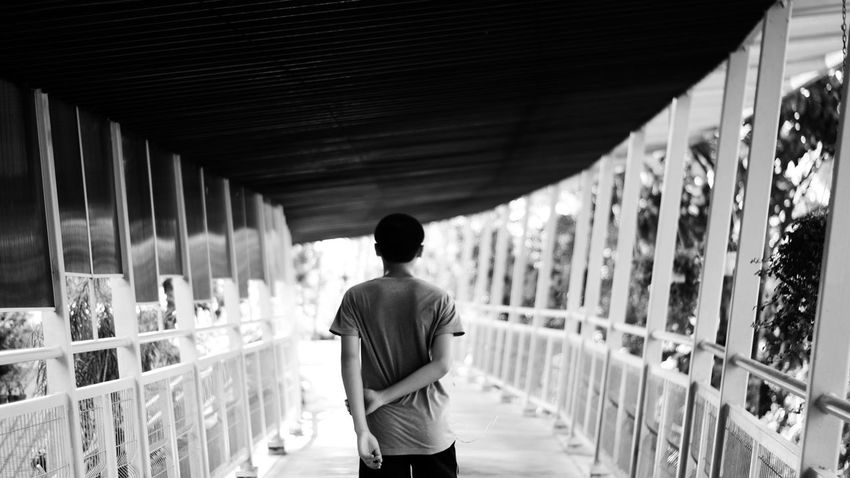 One Person Black & White Pulau Pinang Malaysia Outdoors Streetphotography Street