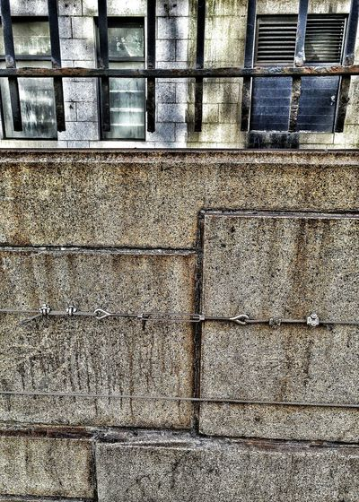 Smartphone Photography Pattern, Texture, Shape And Form NYC Street Photography Turnbuckles Work Holland Tunnel