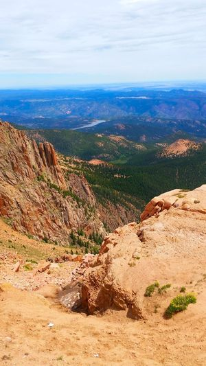 Pikes Peak Summit Mountains Colorado Springs Valleys Scenic View The Great Outdoors - 2016 EyeEm Awards