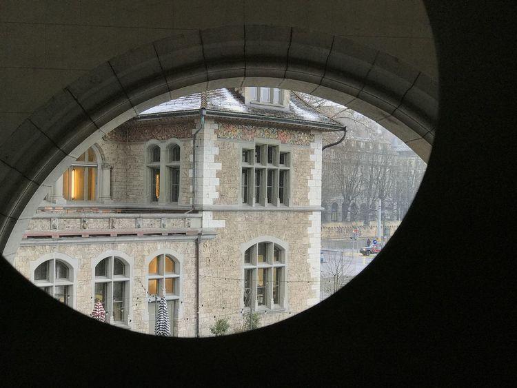 Landesmuseum Zürich View From The Window... Zürich Window Indoors  Arch Architecture Building Exterior