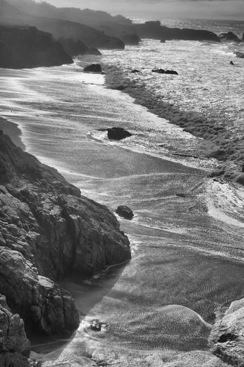 Big sur ripples Ripples Nature Scenics Tranquil Scene Mountain Tranquility Water High Angle View Landscape Sea Beauty In Nature