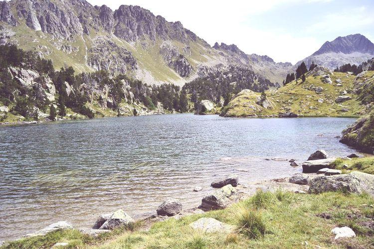 Vielha Val D'Aran Water Mountain Lake Tree Sky Mountain Range Landscape