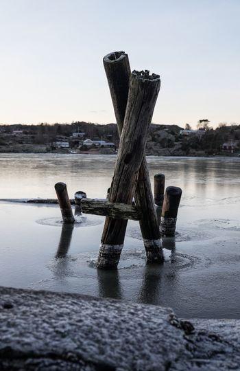 Ice Nature Is Sea Havet Sotenäs Taking Photos Goodmorning Brygga December