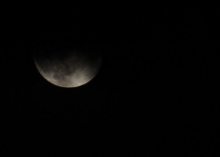Darkness And Light Last Night Moon Nature No People No Supermoon Sky Starless