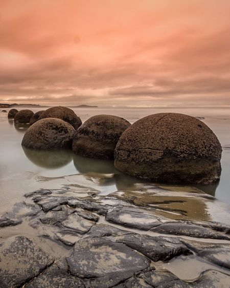 Pretty much the only photo I got of the Moeraki Boulders before the camera went and gave up. Better luck next time. Check This Out Shootermag No People Landscape_Collection Long Exposure Streamzoofamily Majestic Life Is A Beach Travel Photography Ladyphotographerofthemonth For My Friends That Connect EyeEm Masterclass New Zealand Scenery Tadaa Community My Sky Obsession... Photooftheday EyeEm Nature Lover EyeEm Best Shots - Sunsets + Sunrise Nature Sunrise Eye4photography  Hello World Sunrise N Sunsets Worldwide  Clouds Beachphotography