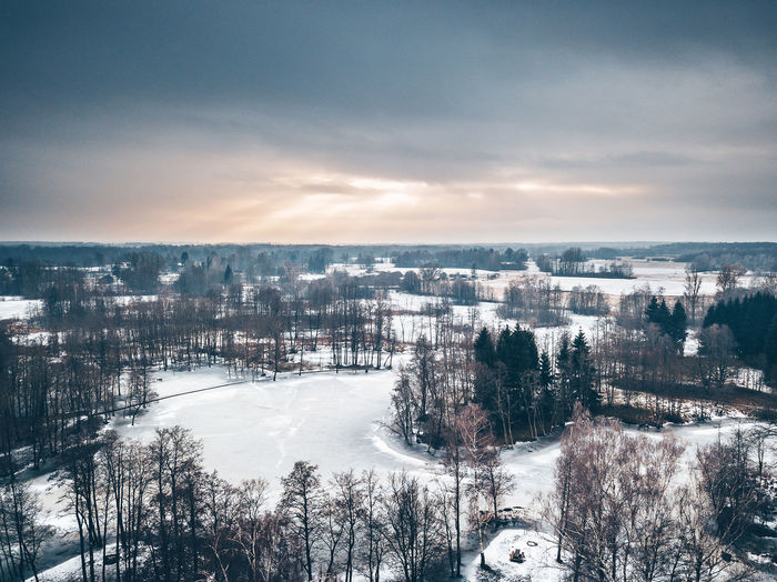 Winter sunset Nature Drone  Frozen Lake Ice Kirkilai Kirkilai Lakes Lietuva Aerial View Architecture Beauty In Nature Building Exterior Cold Cold Temperature Day Europe Landscape Mavic Mavic Pro Nature No People Outdoors Scenics Sky Snow Tranquility Tree Weather Winter Winter Wonderland