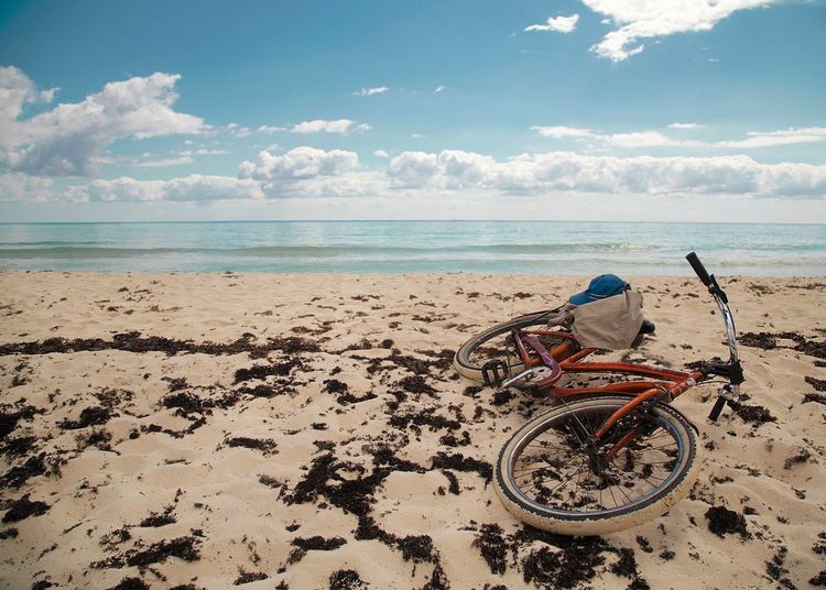 Abandoned bicycle in Mexico Mexico Ocean Sand Being A Beach Bum Bum Beach