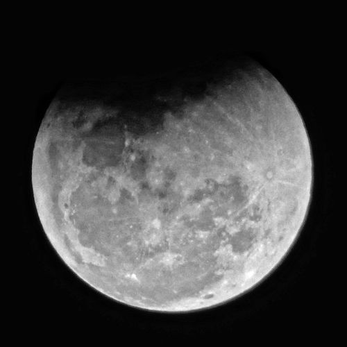 Moon Eclipse 2018 Astronomy Space Moon Space Exploration Moon Surface Satellite View Planetary Moon Half Moon Sky Close-up