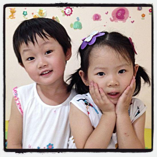 齐子瑶和宗嘉琪在乐高体验中心