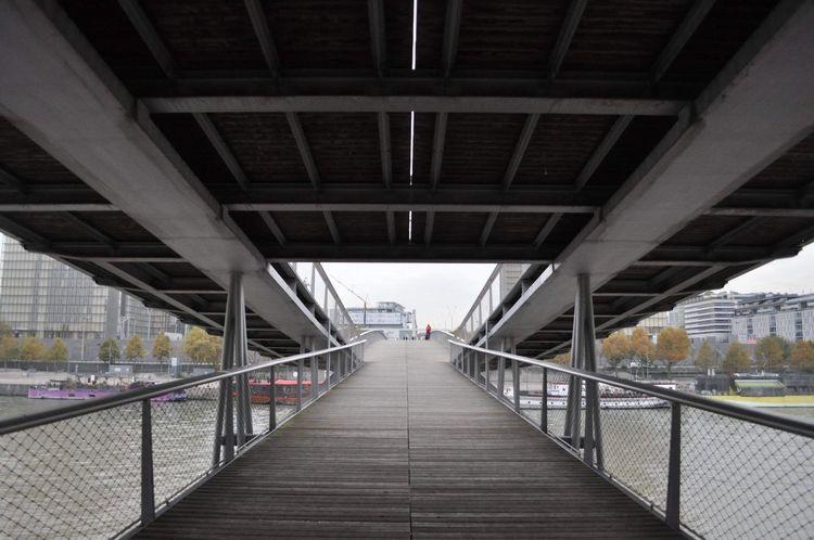 🌉 Paris Bridge - Man Made Structure Connection Architecture Built Structure Footbridge Transportation Railing Bridge Outdoors
