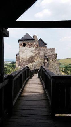 Boldogkőváralja Castle Day Hungary Love No People Perspective Turism