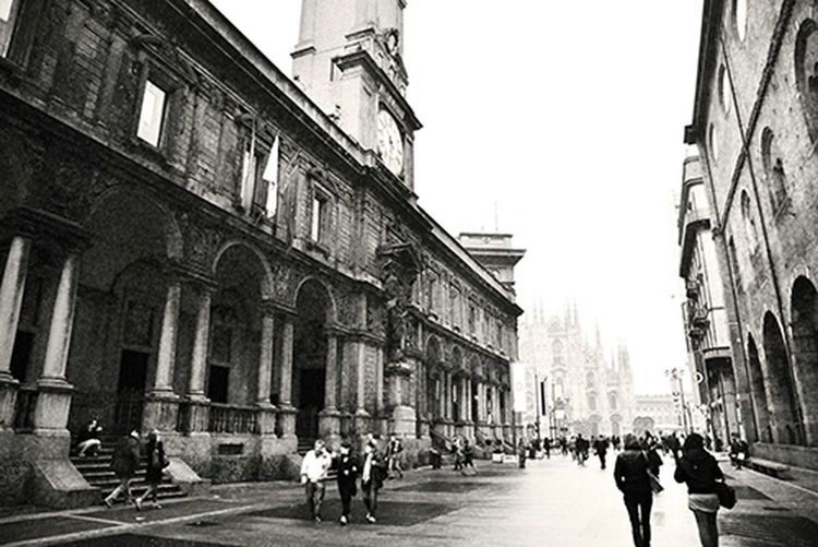 Street Photography Black And White Monochrome Milano Travel Photography