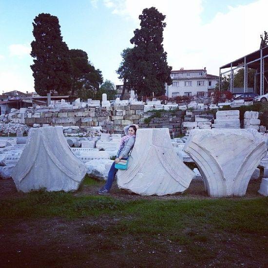 Place of the real AGORA :) Izmir Basilic Romanruins Agora