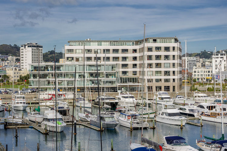 Boat Harbour City Harbour Wellington Harbour Wellington, New Zealand Capital Jetty New Zealand Pleasure Craft Wealthy Lifestyle Wharf Yacht