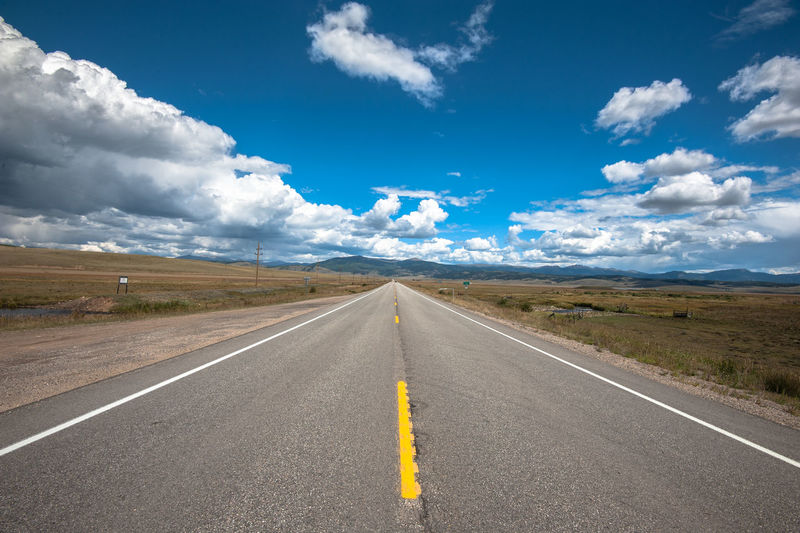 Blue Cloud - Sky Day Landscape No People Outdoors Road Scenics Sky Travel Weather