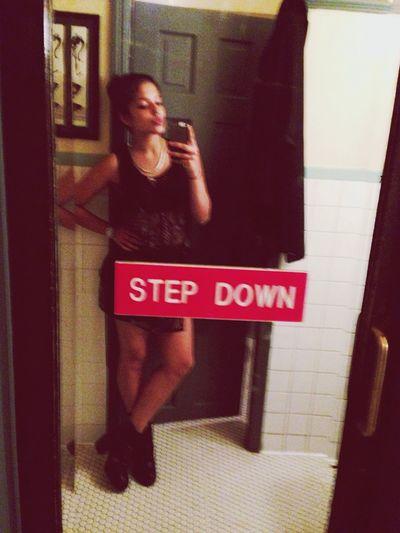 Step Down Dinner Mirror