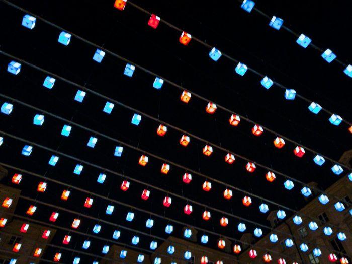 Beautifully Organized Arts Culture And Entertainment Illuminated Light Art Contemporary Art Turin Italy
