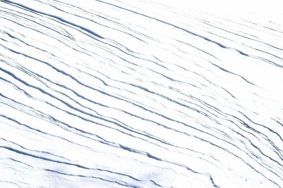 Snow ❄ Layers White White Album Pattern Patterns In Nature Patterns & Textures Simplicity Simple Photography Simple Beauty Nature_collection Nature Photography Nature On Your Doorstep Natural Beauty Gorgeous Day Its Cold Outside Waves Pattern Pieces