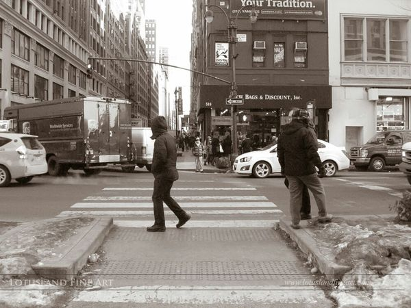 Midtown Manhattan, February 2015. Canonusa Black And White Streetphotography_bw Urban Photography Street Photography New York City