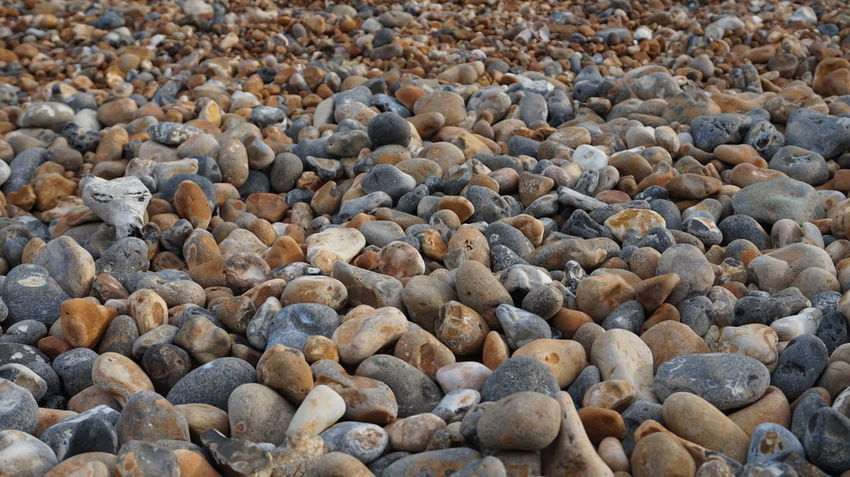 Abundance Backgrounds Beauty In Nature Close-up Day Full Frame Heap Large Group Of Objects Nature No People Outdoors Pebble Rock - Object Stone Stone - Object Tranquility