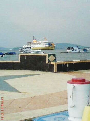 Port approach. Pelni Ships Harbour Sea Baubaugraphy Kamali Indonesiabanget Indahnyaindonesia Your Ticket To Europe