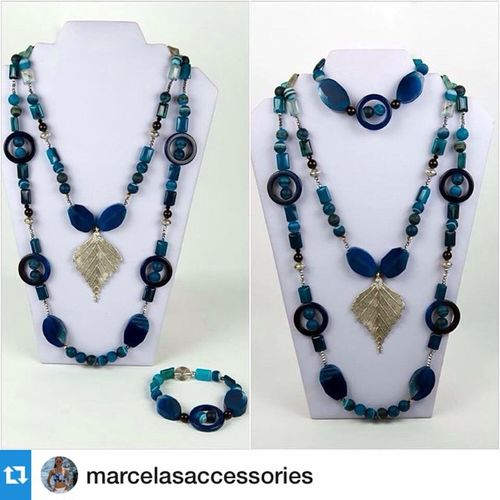 Repost from @marcelasaccessories from our shoot of their beautiful Luna necklace, which is available now. Marcelasaccessories Byginalopez Fashion Jewellery Semiprecious Stones Moda Beautiful OnSale shot by @jkdimagery Johnpryke 👌💙