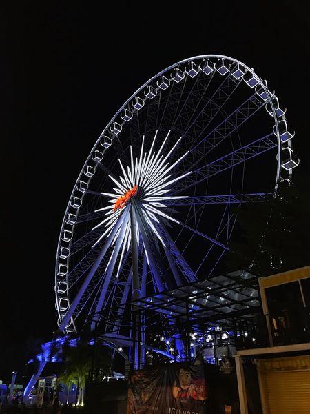 Asiatique the river in BKK, Thailand. Ferris Wheel Arts Culture And Entertainment Amusement Park Nightmarket Thailand Bangkok