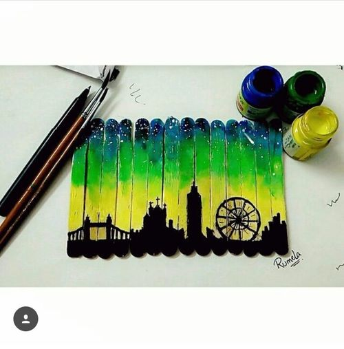 Paintingsandadventures World Famous Landmark Travel Destinations Blending_paintingandtravelling Mysortofthing