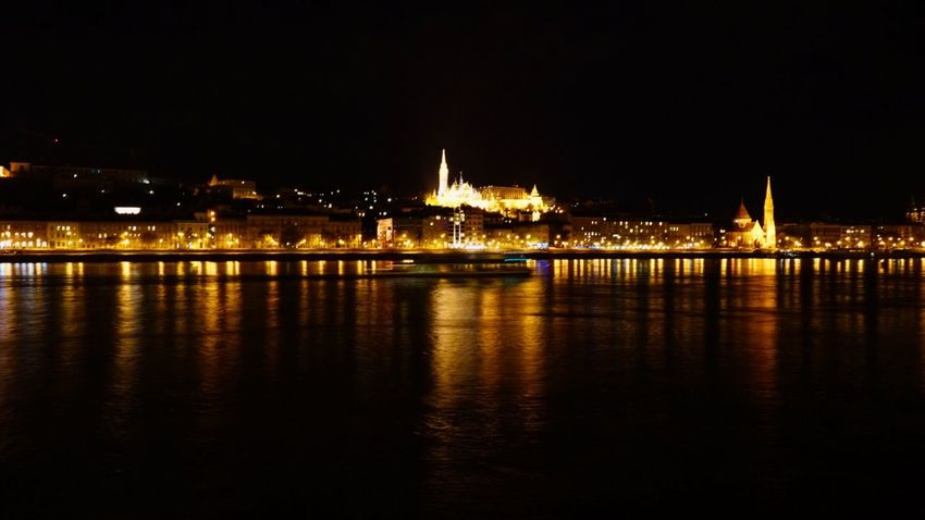 Budapest, Hungary Night Photography Night Lights Architecture Riverside Photography