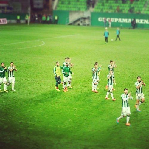 Ferencváros FTC  Hajrafradi Zöldfehér Groupamaarena Mennyei Agyőzelemaferencvárosé
