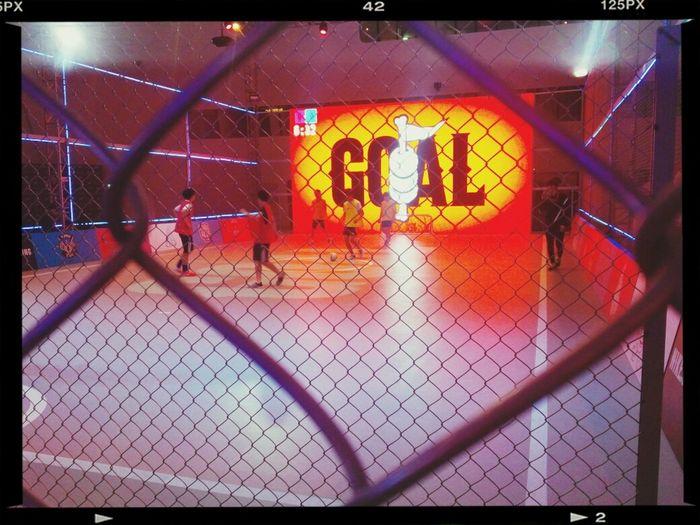 Footsal 미래의 호나우두들. 마치 클럽에서 축구를 하고 있는 기분이다. (멋지다 나이키!)