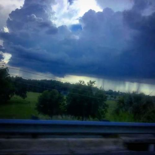 On Vacation Thunderstorm I Love Storms Off To The Distance Beautiful Florida Weather Florida Usa