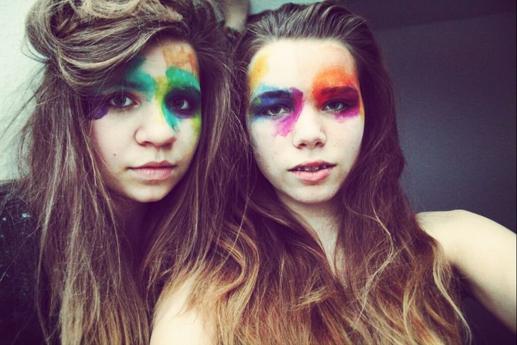 Eyes Girls Good Times Photography Colourful Photooftheday Long Hair Ombre Hair Flour