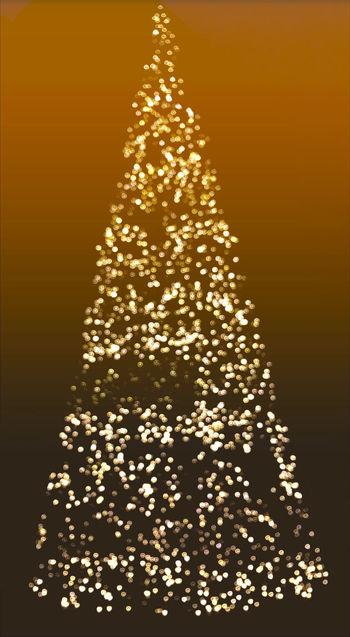 Christmas Tree Christmas Lights Christmastime Christmas Bokeh