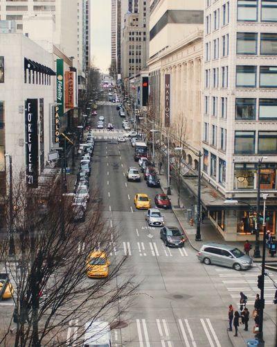 Seattle, Washington Downtown Seattle Reminisce Love And Soul